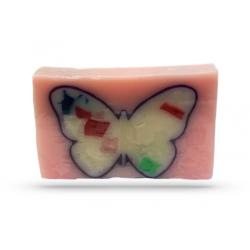 Seife GUAVA Schmetterling Rosa